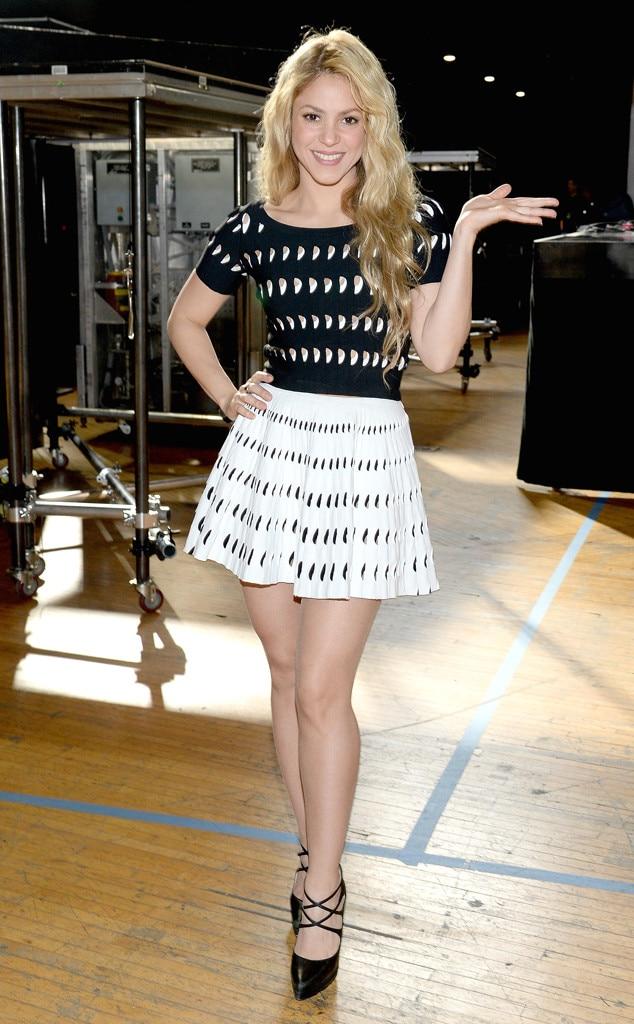 milan e shakira 2014 dresses - photo#8