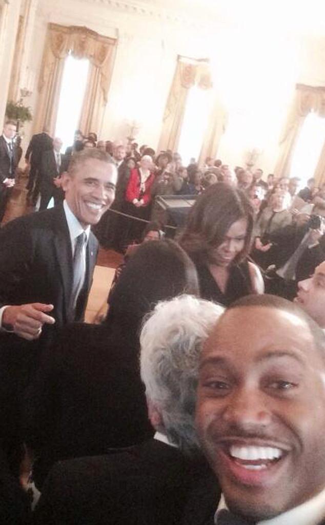 Terrence Jenkins, Michelle Obama, Barack Obama, Twitter