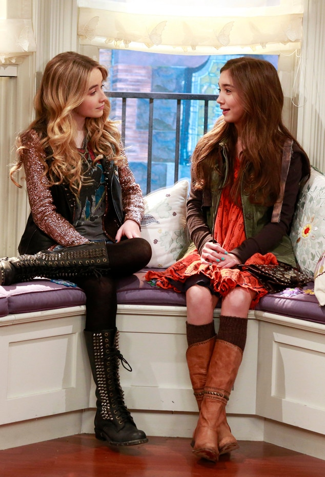 Girl Meets World, Sabrina Carpenter, Rowan Blanchard