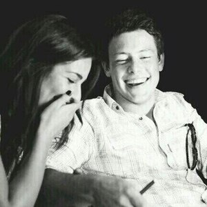 Lea Michele, Cory Monteith, Twitter