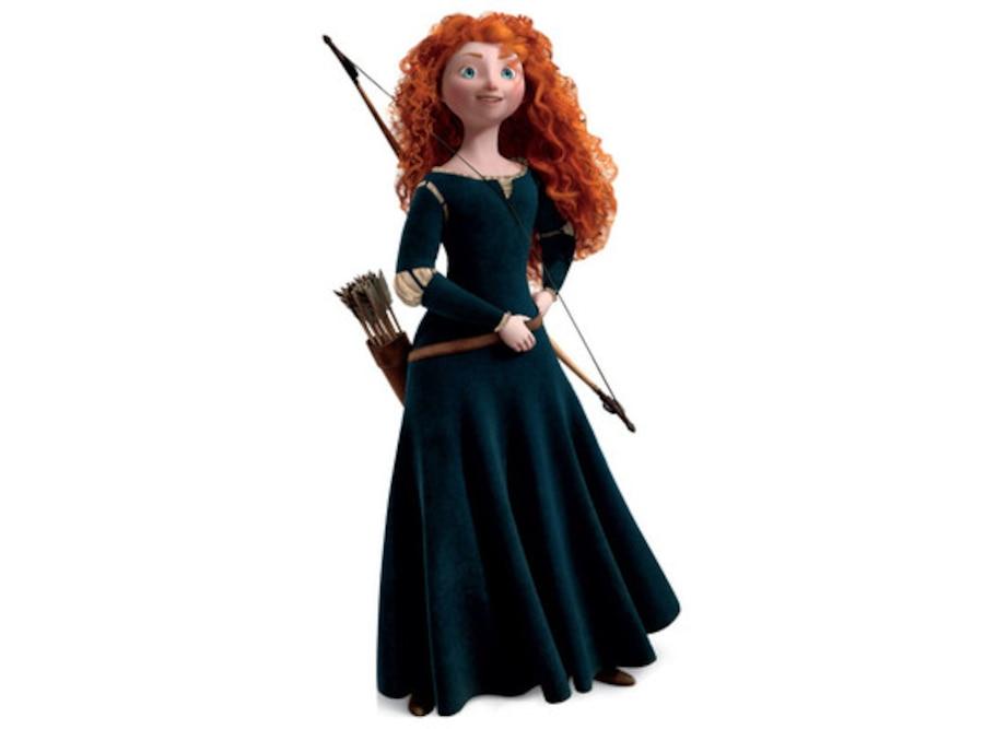 Merida, Brave, Disney Princess