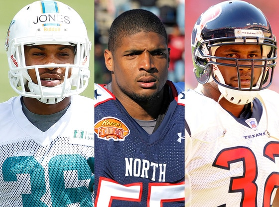 Don Jones, Michael Sam, Derrick Ward
