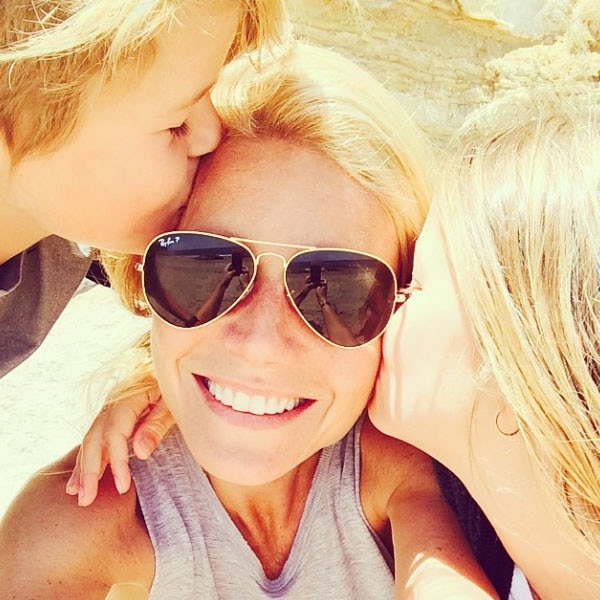 Gwyneth Paltrow, Kids, Instagram