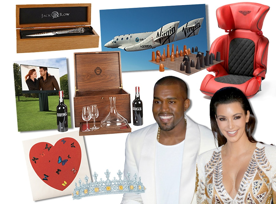 Kimye Ultimate Gift Guide, Kim Kardashian, Kanye West