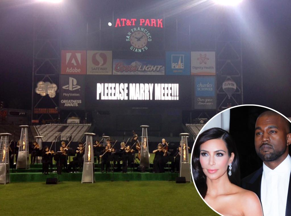 Kanye West Proposes To Kim Wedding Ideas