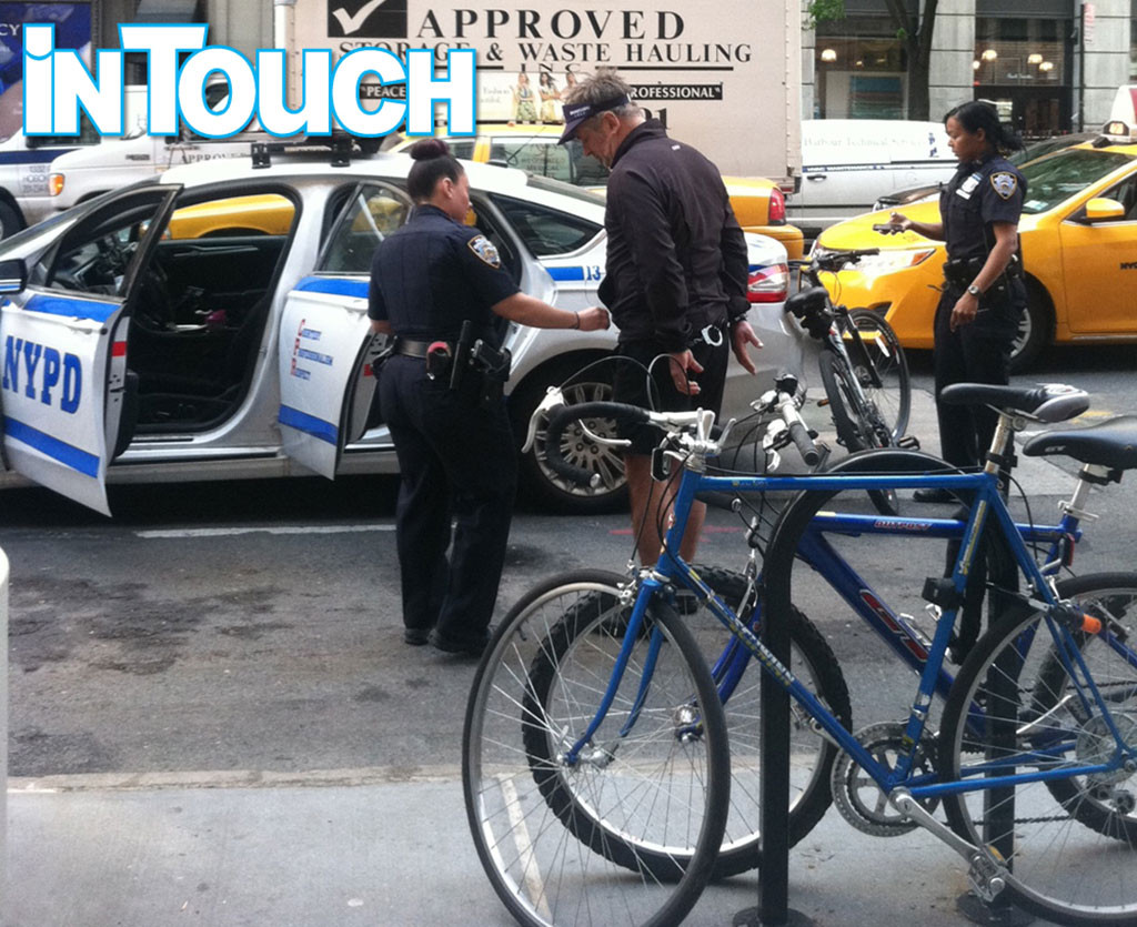 Alec Baldwin, Arrest, In Touch Weekly