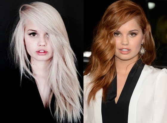 Debby Ryan, Blonde, Brunette