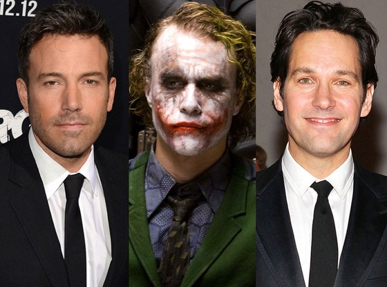 Ben Affleck, Heath Ledger, Paul Rudd