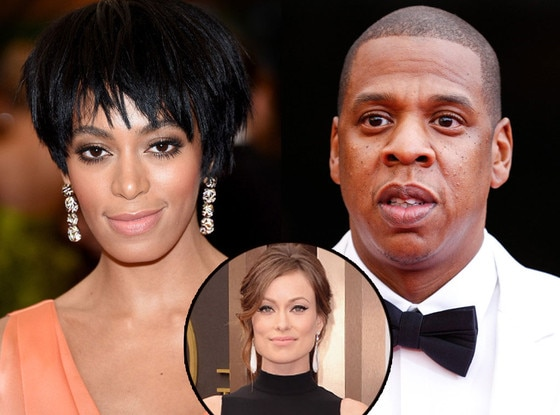 Jay-Z, Solange, MET Gala, Olivia Wilde