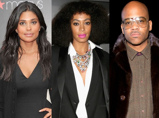 Damon Dash, Rachel Roy, Solange Knowles