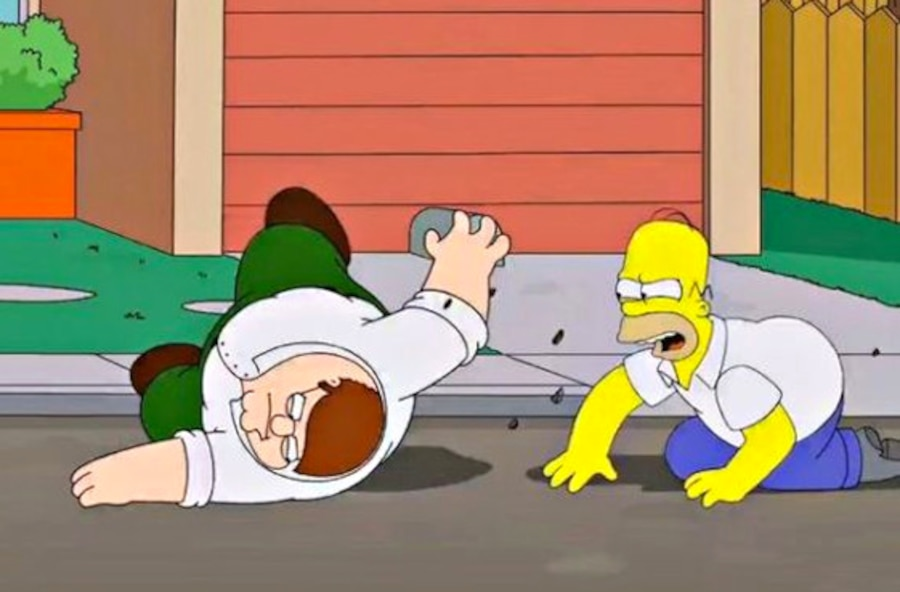 The Simpsons, Peter, Homer