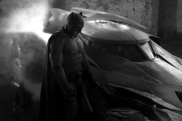 Batman, Zack Snyder Twit Pic