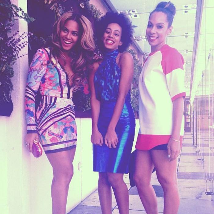 Solange, Beyonce, Instagram