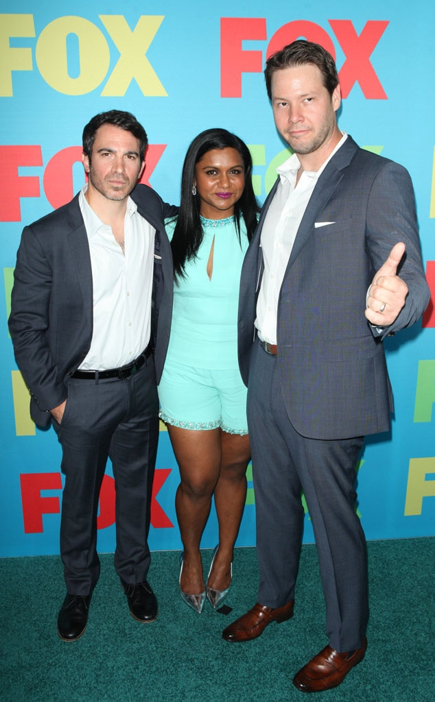Chris Messina, Mindy Kaling, Ike Barinholtz, Fox FanFront 2014
