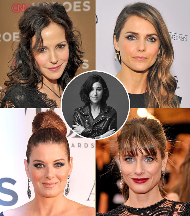 Glam Squad, Tina Turnbow, Mary Louise-Parker, Amanda Peet, Keri Russell, Debra Messing,