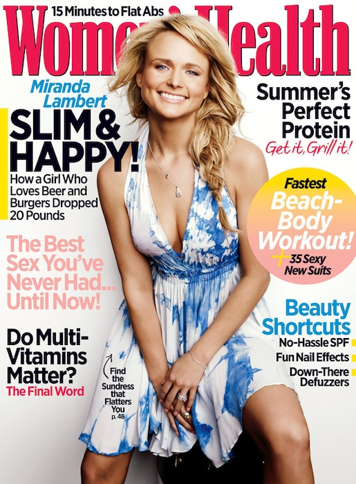 Miranda Lambert, Women's Health