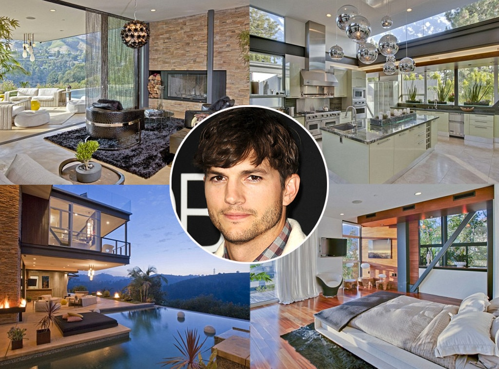 Ashton Kutcher, Home
