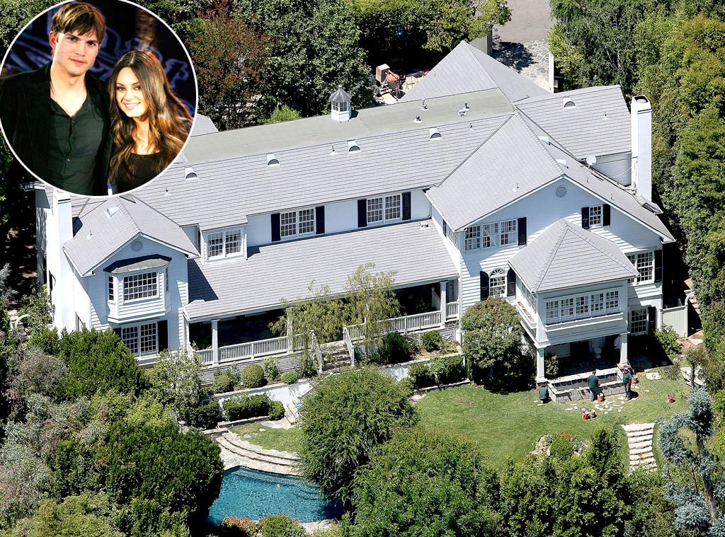 Ashton Kutcher, Mila Kunis, Home