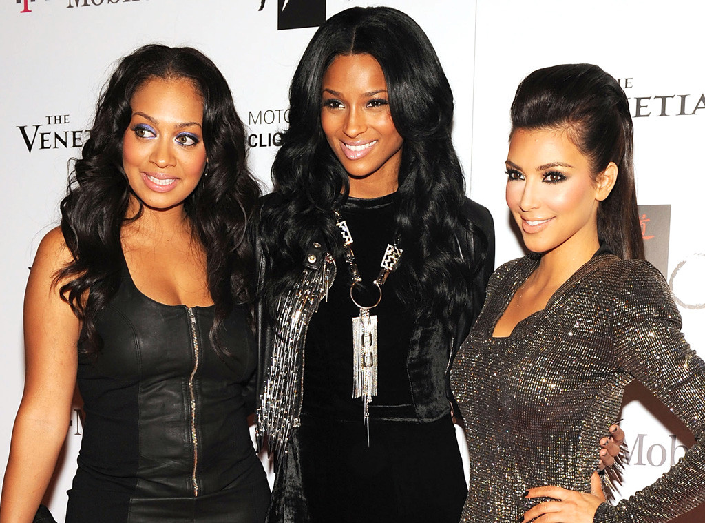 Lala Vasques, Ciara, Kim Kardashian