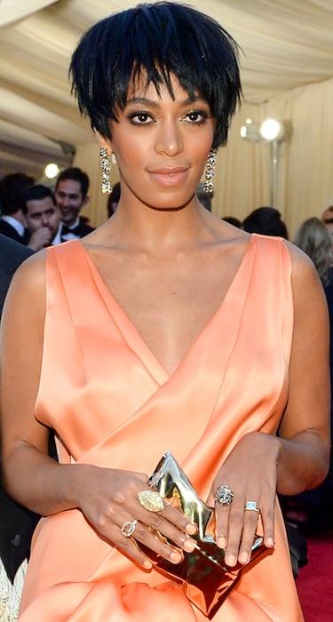 Solange Knowles, MET Gala, Clutch