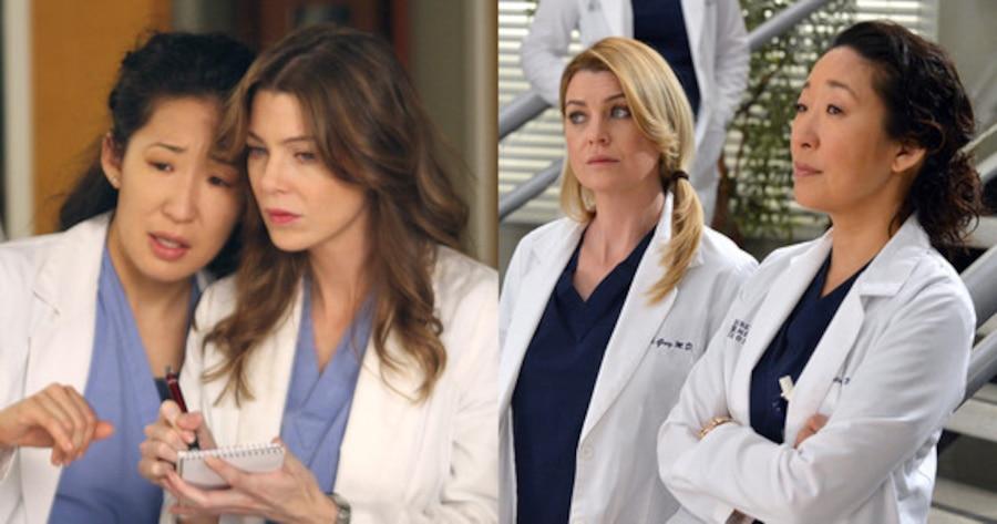 Grey's Anatomy, Ellen Pompeo, Sandra Oh