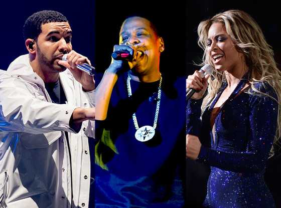 Jay-Z, Beyonce, Drake, BET Award Nominations