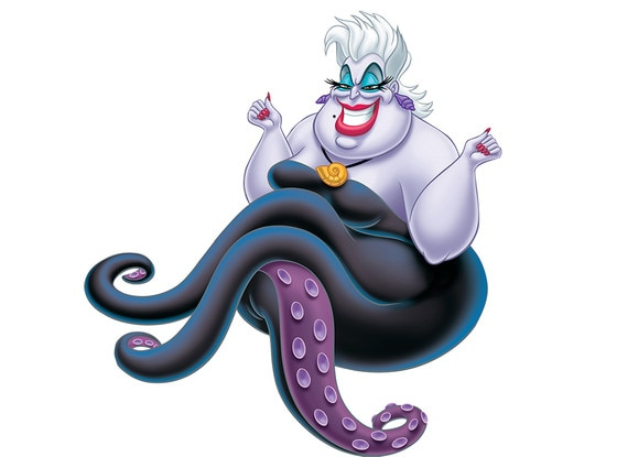 Disney Villains, Ursula the Sea Witch, The Little Mermaid