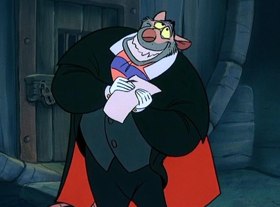 Disney Villains, Professor Ratigan, The Great Mouse Detective