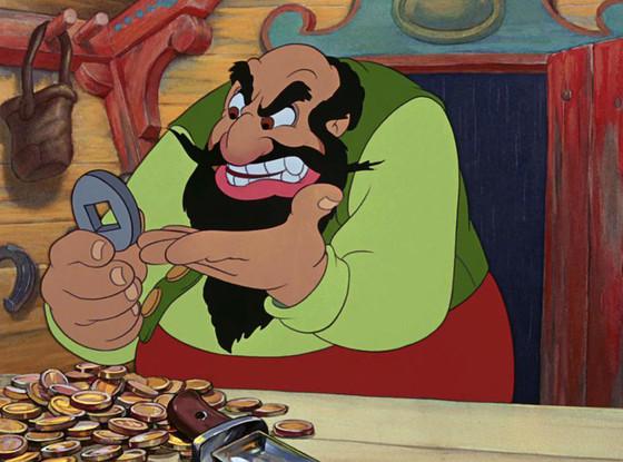 Disney Villains, Stomboli, Pinocchio