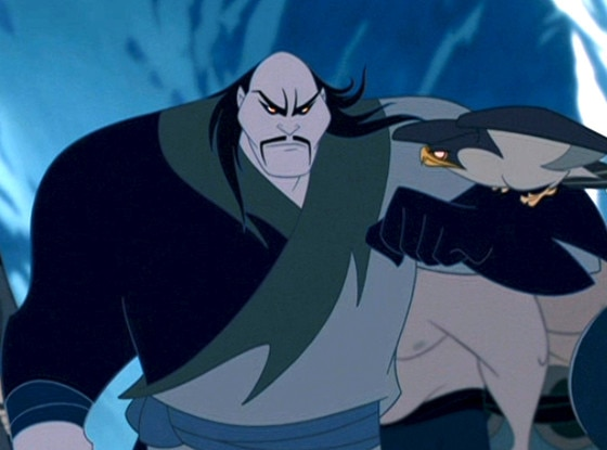 Disney Villains, Shan Yu, Mulan