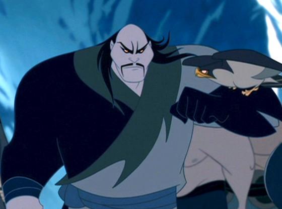 Disney Villains, Shan Yu, Mulan