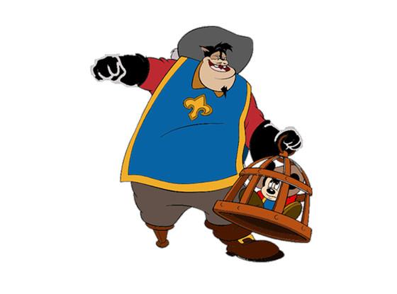 Disney Villains, Peg Leg Pete, Mickey & Co.