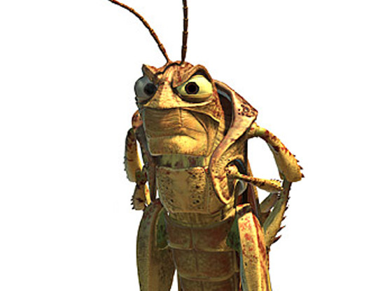 Disney Villains, Hopper, A Bug's Life