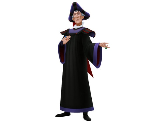 Disney Villains, Claude Frollo, The Hunchback of Notre Dame