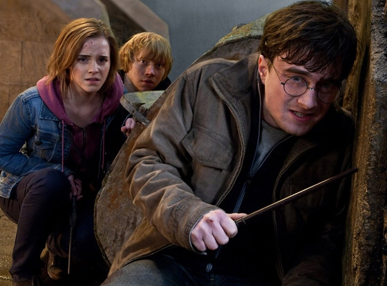 Harry Potter and the Deathly Hallows, Daniel Radcliffe, Emma Watson, Rupert Grint