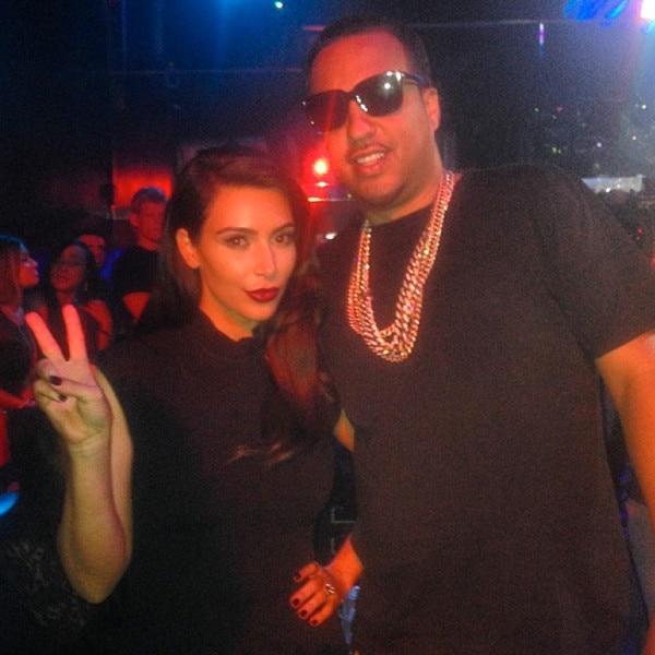 Kim Kardashian, French Montana