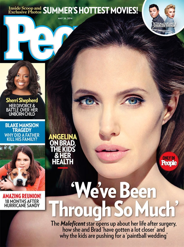 Angelina Jolie, People Magazine