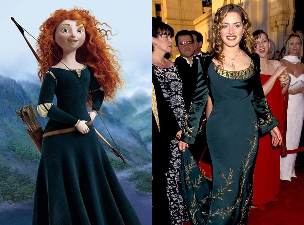 Kate Winslet, Disney Princess Style