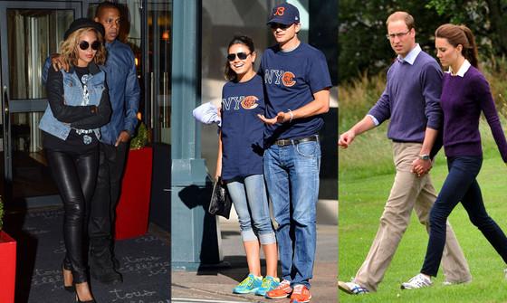 Beyonce, Jay-Z, Mila Kunis, Ashton Kutcher, Prince William, Kate Middleton