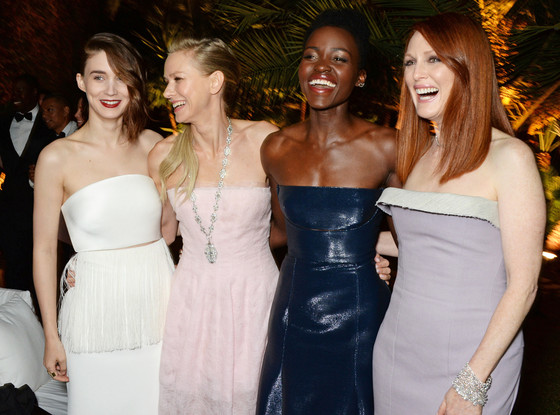 Rooney Mara, Naomi Watts, Lupita Nyong'o, Julianne Moore