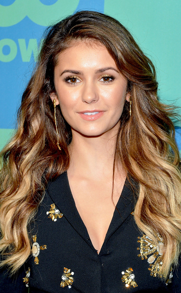 Nina Dobrev Explains Why She Went Blond Watch Now E News