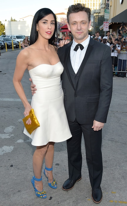 Sarah Silverman, Michael Sheen