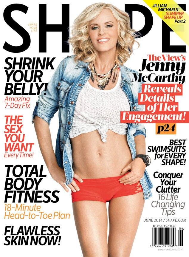 Jenny McCarthy, Shape Magazine