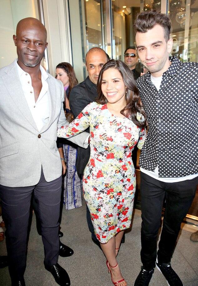 America Ferrera, Djimon Hounsou, Jay Barcuhel