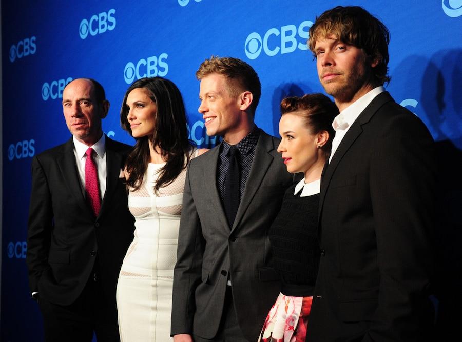 Miguel Ferrer, Daniela Ruah, Barrett Foa, Renee Felice Smith, and Eric Christian Olsen, CBS Upfronts