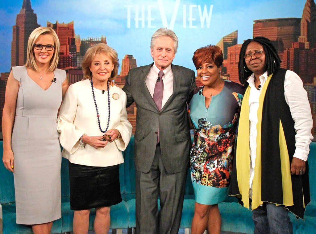 Barbara Walters, Michael Douglas, The View