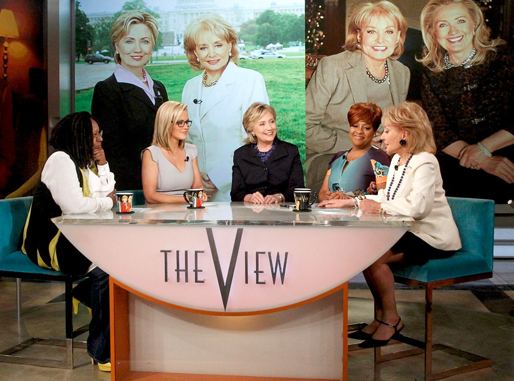 Barbara Walters, Hillary Clinton, The View