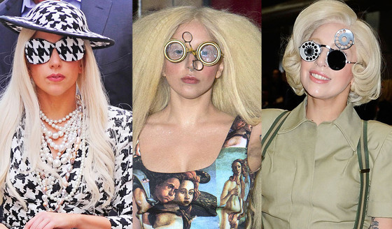 Lady Gaga, Strange Glasses
