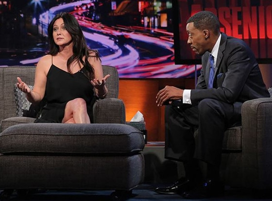 Shannen Doherty, Arsenio Hall