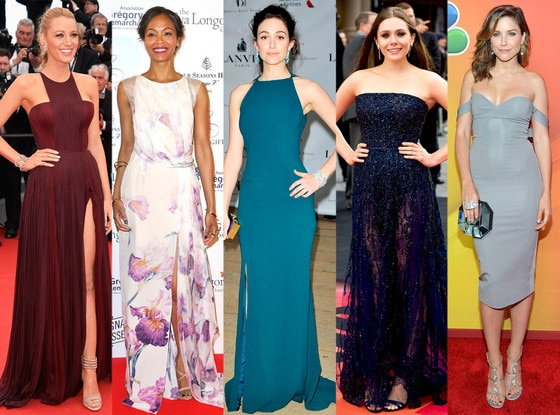 Best Looks of the Week: Blake Lively, Zoe Saldana, Emmy Rossum, Elizabeth Olsen, Sophia Bush